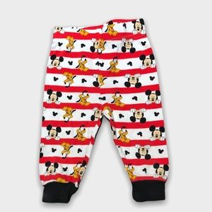 4/$20🥳 Disney Mickey Mouse Snug Fit Joggers